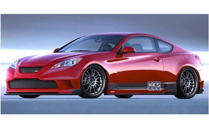 Hyundai Genesis coupe by HKS - Slide 1