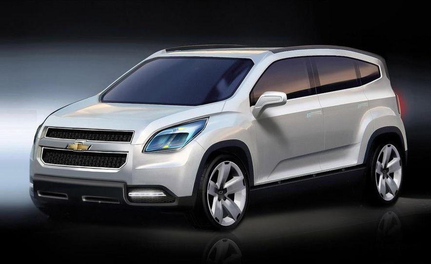 Chevrolet Orlando concept door panel - Slide 28