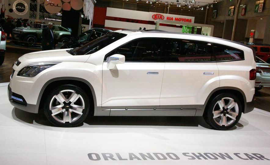 Chevrolet Orlando concept door panel - Slide 5