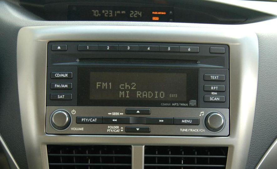 2009 Subaru Forester 2.5XT - Slide 27