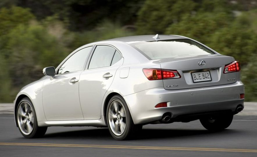 2009 Lexus IS250 C convertible - Slide 32