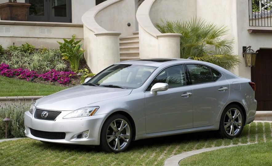 2009 Lexus IS250 C convertible - Slide 36
