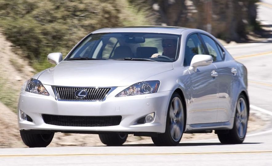 2009 Lexus IS250 C convertible - Slide 27