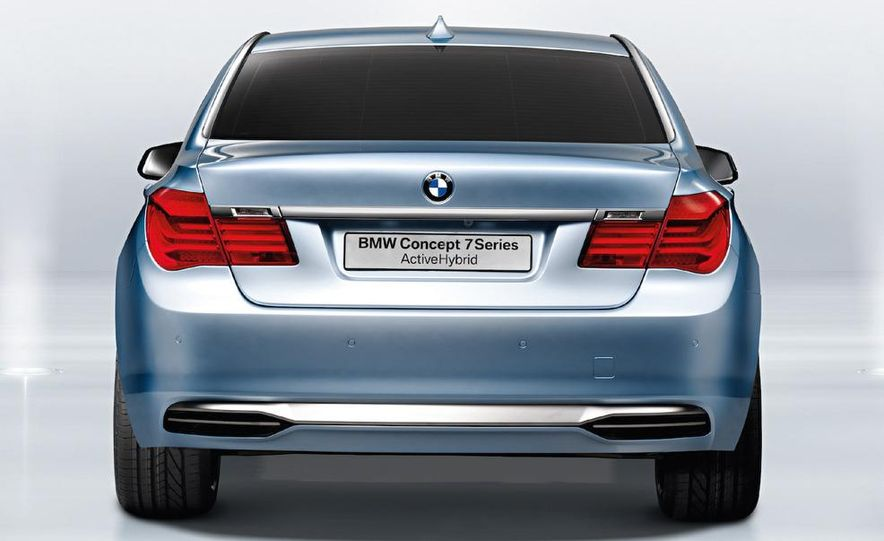 BMW Concept 7-series ActiveHybrid - Slide 21