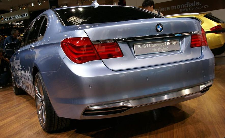 BMW Concept 7-series ActiveHybrid - Slide 1