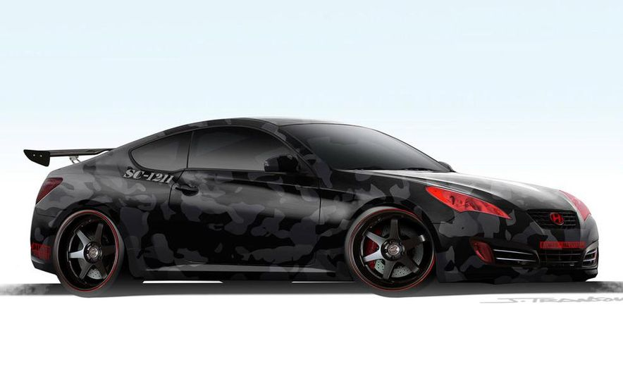 Hyundai Genesis coupe by Street Concepts - Slide 1