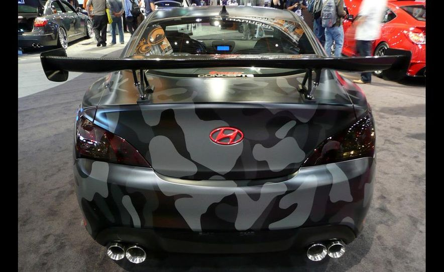 Hyundai Genesis coupe by Street Concepts - Slide 22