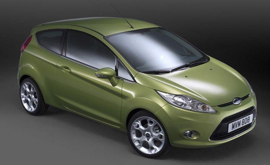 2010 Ford Fiesta 3-door (European spec) - Slide 23