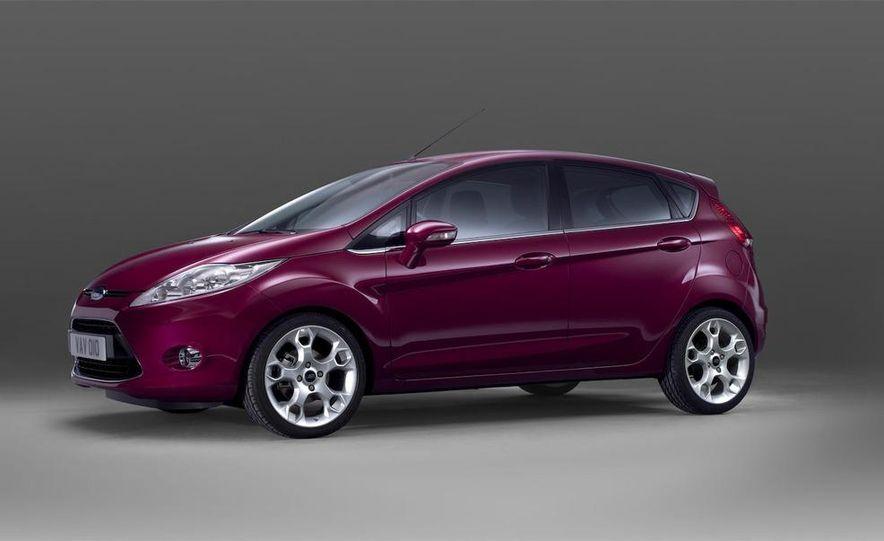 2010 Ford Fiesta 3-door (European spec) - Slide 37