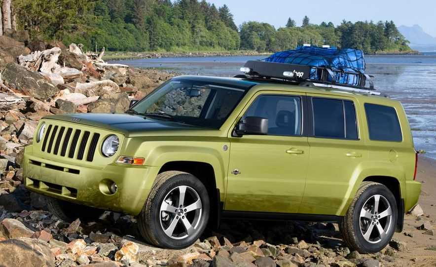 Jeep Patriot Back Country concept - Slide 1