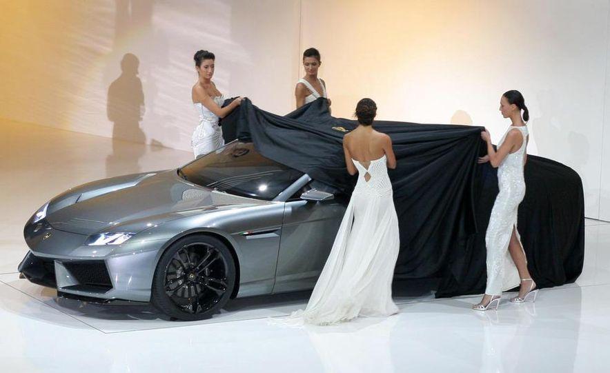 Lamborghini Estoque concept - Slide 12