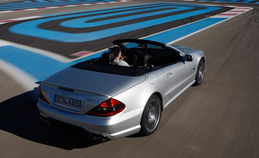 2009 Mercedes-Benz SL63 interior - Slide 27