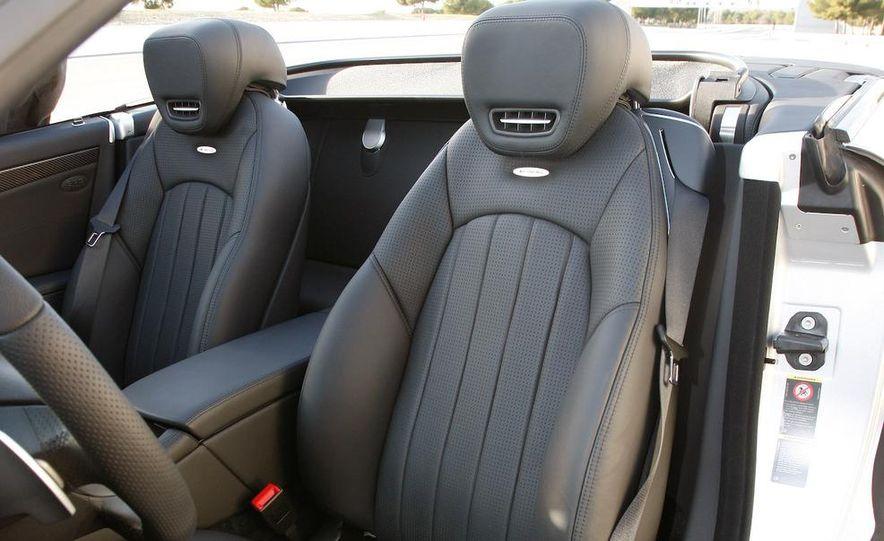 2009 Mercedes-Benz SL63 interior - Slide 1