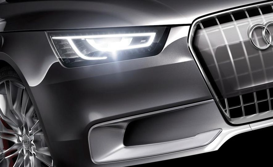 Audi A1 Sportback concept - Slide 38