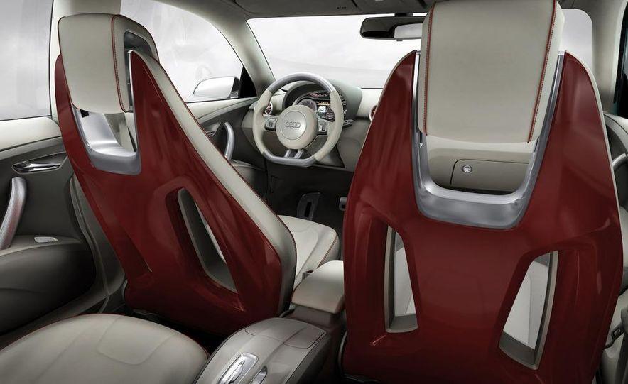Audi A1 Sportback concept - Slide 43