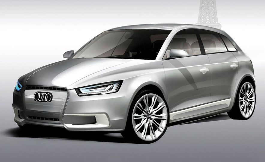 Audi A1 Sportback concept - Slide 28
