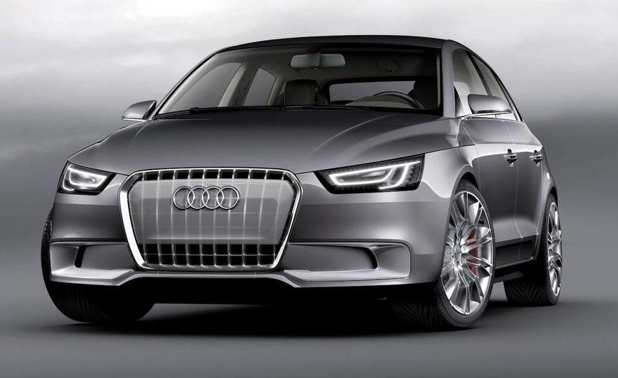 Audi A1 Sportback concept - Slide 29