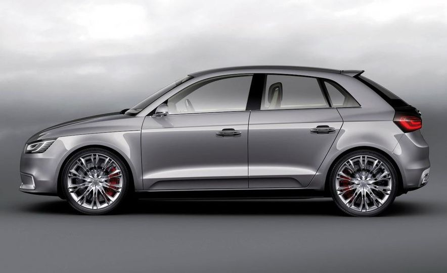 Audi A1 Sportback concept - Slide 30