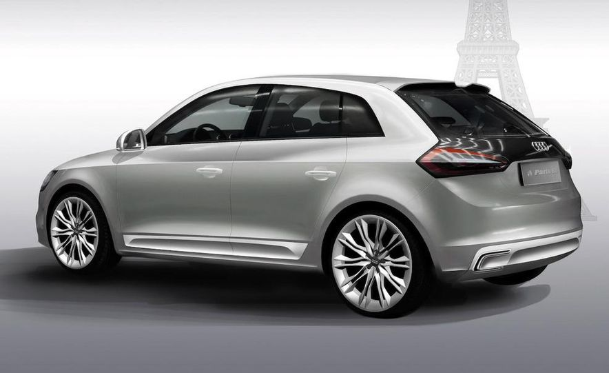 Audi A1 Sportback concept - Slide 31