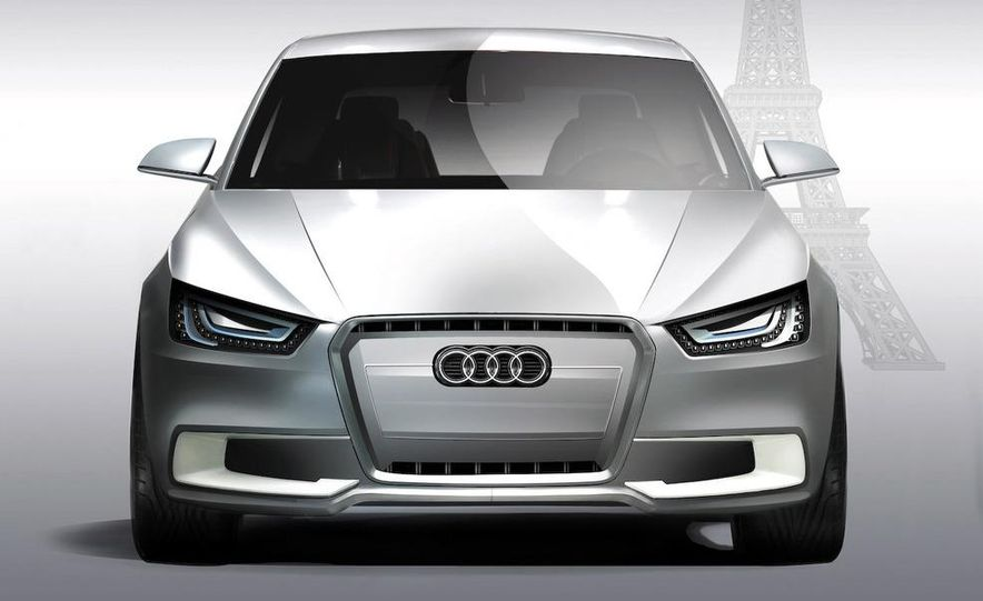 Audi A1 Sportback concept - Slide 32
