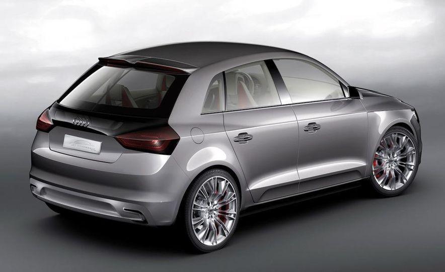 Audi A1 Sportback concept - Slide 33