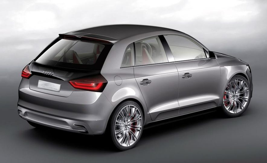 Audi A1 Sportback concept - Slide 34