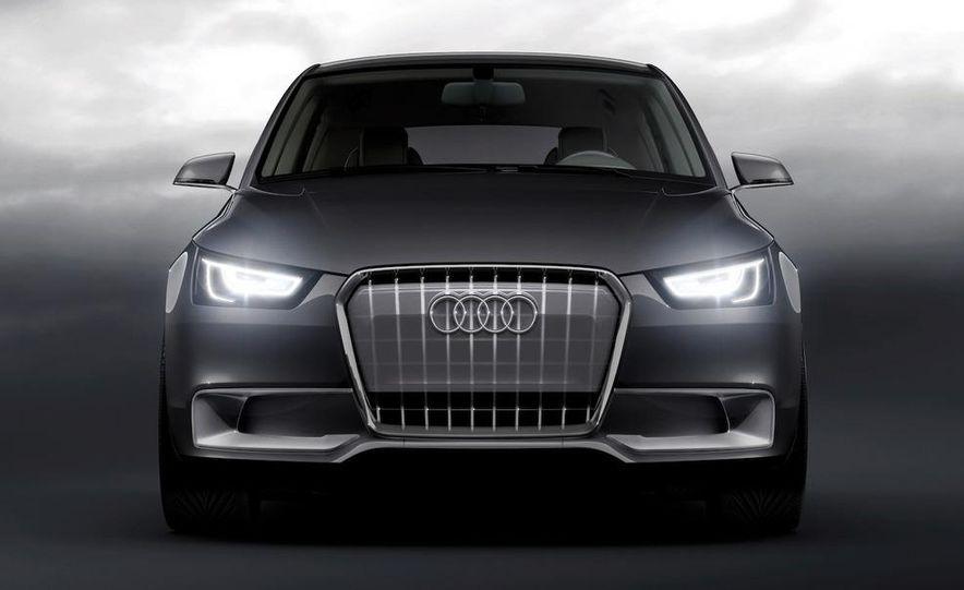 Audi A1 Sportback concept - Slide 35