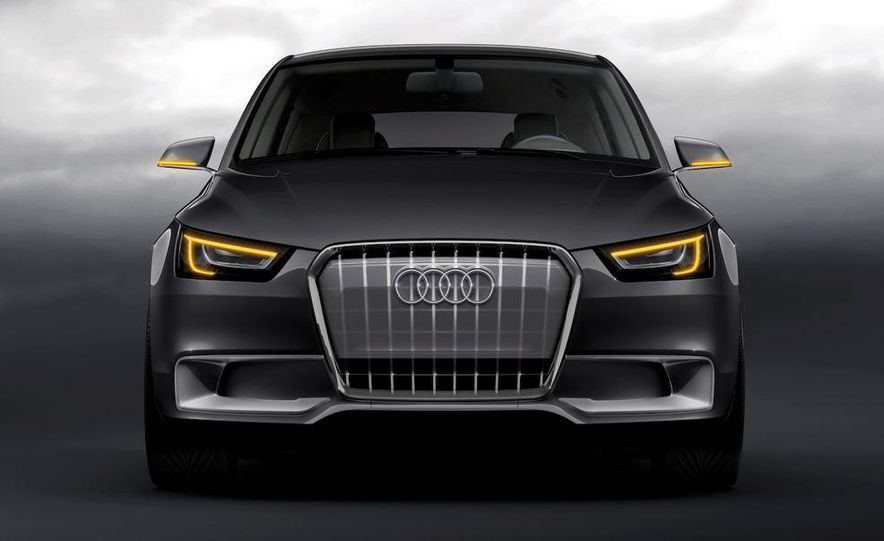 Audi A1 Sportback concept - Slide 36