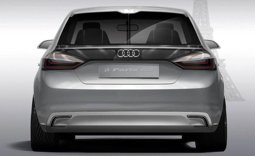 Audi A1 Sportback concept - Slide 37