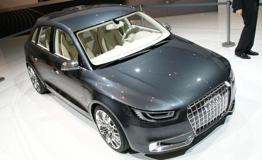 Audi A1 Sportback concept - Slide 14