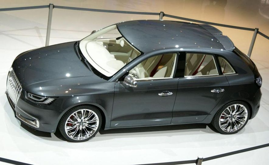 Audi A1 Sportback concept - Slide 23