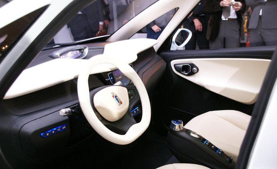 2010 Pininfarina B0 electric car - Slide 10
