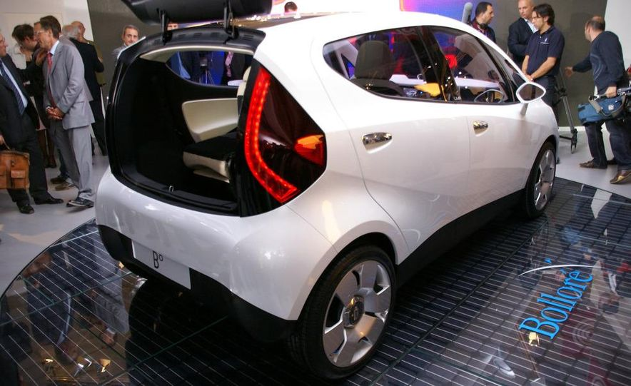 2010 Pininfarina B0 electric car - Slide 4