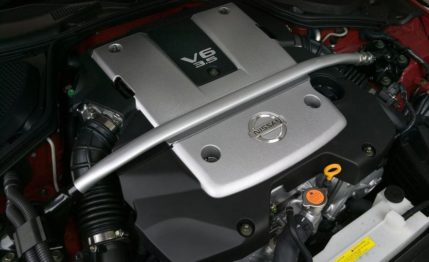 2008 Nissan 350Z interior - Slide 5
