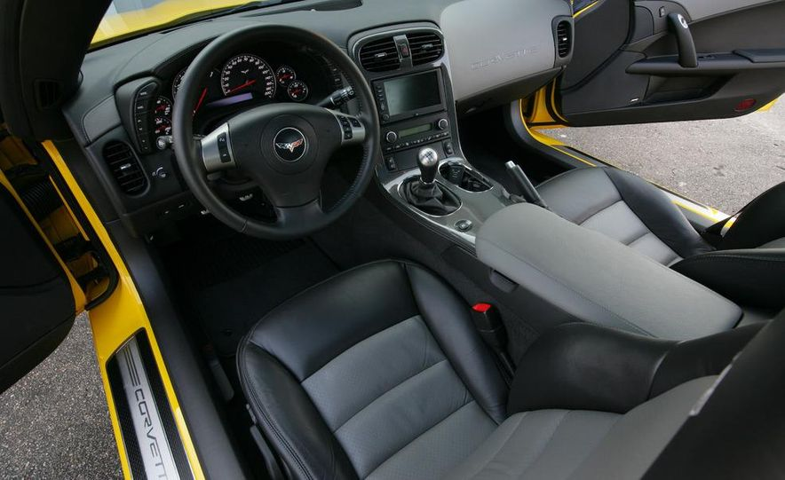 2009 Chevrolet Corvette Z06, ZR1, and Z51 - Slide 36