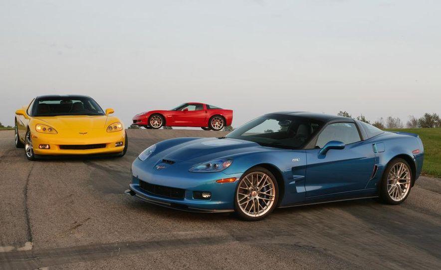 2009 Chevrolet Corvette Z06, ZR1, and Z51 - Slide 4