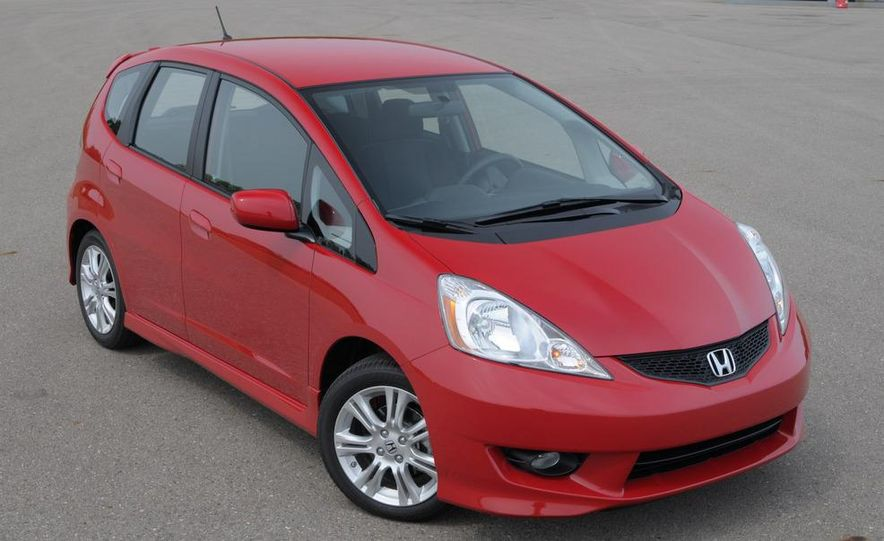 2010 Honda Fit Sport - Slide 18