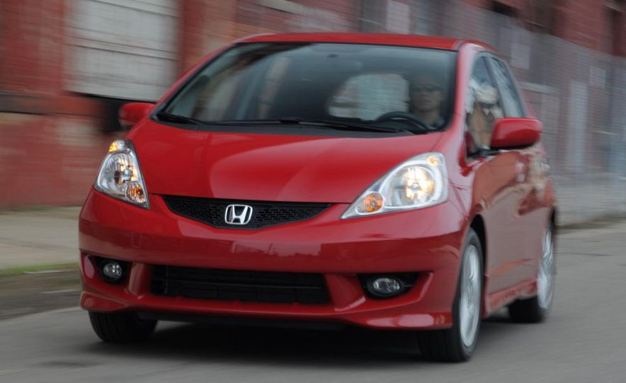 2010 Honda Fit Sport - Slide 20