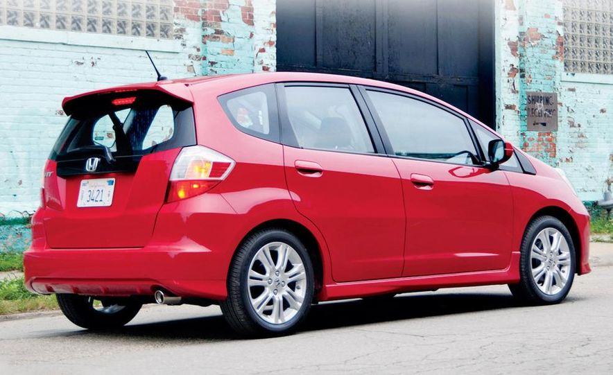 2010 Honda Fit Sport - Slide 16