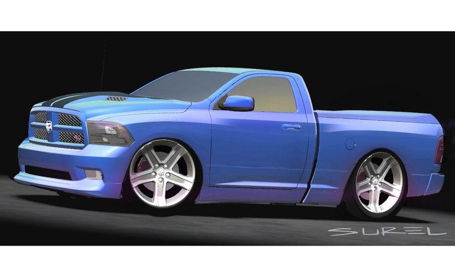 Mopar Underground Dodge Ram TRXtreme concept illustration - Slide 3