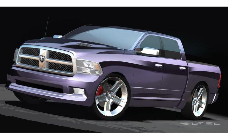 Mopar Underground Dodge Ram TRXtreme concept illustration - Slide 2