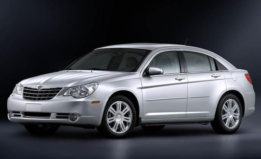 2010 Chrysler Sebring illustration - Slide 20