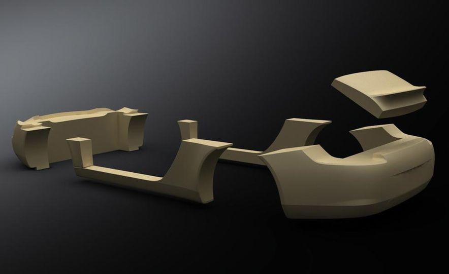 Ruf eRuf Concept Model A motor cover illustration - Slide 22