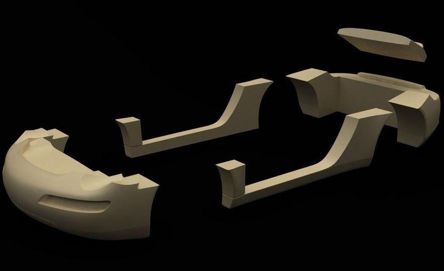 Ruf eRuf Concept Model A motor cover illustration - Slide 23