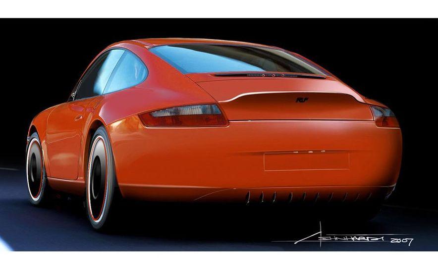Ruf eRuf Concept Model A motor cover illustration - Slide 2