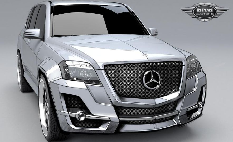 The Boulevard Customs Urban Whip Mercedes-Benz GLK concept - Slide 1