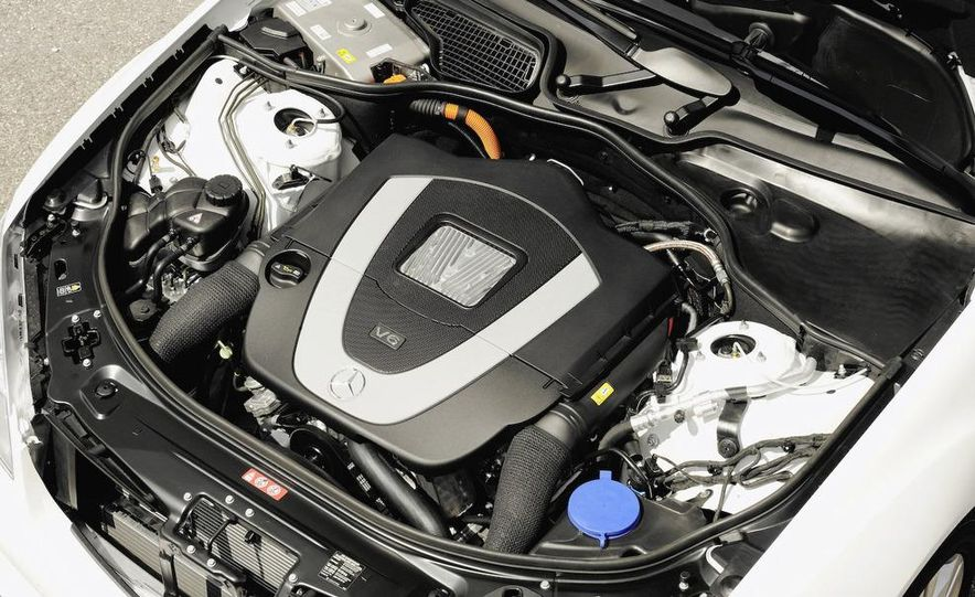 2010 Mercedes-Benz S400 BlueHybrid instrument cluster - Slide 6