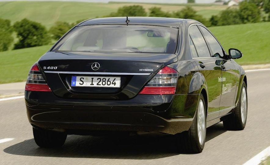 2010 Mercedes-Benz S400 BlueHybrid instrument cluster - Slide 4