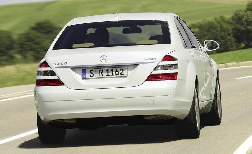 2010 Mercedes-Benz S400 BlueHybrid instrument cluster - Slide 5