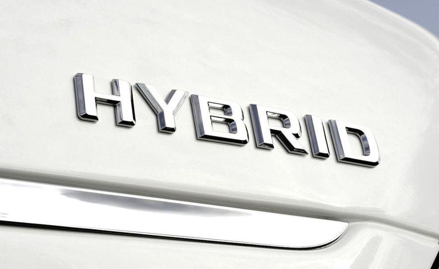 2010 Mercedes-Benz S400 BlueHybrid instrument cluster - Slide 3
